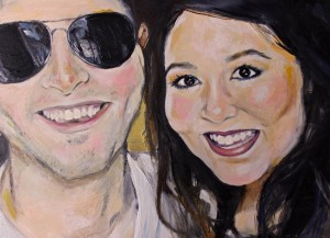 portrait of ryan and me